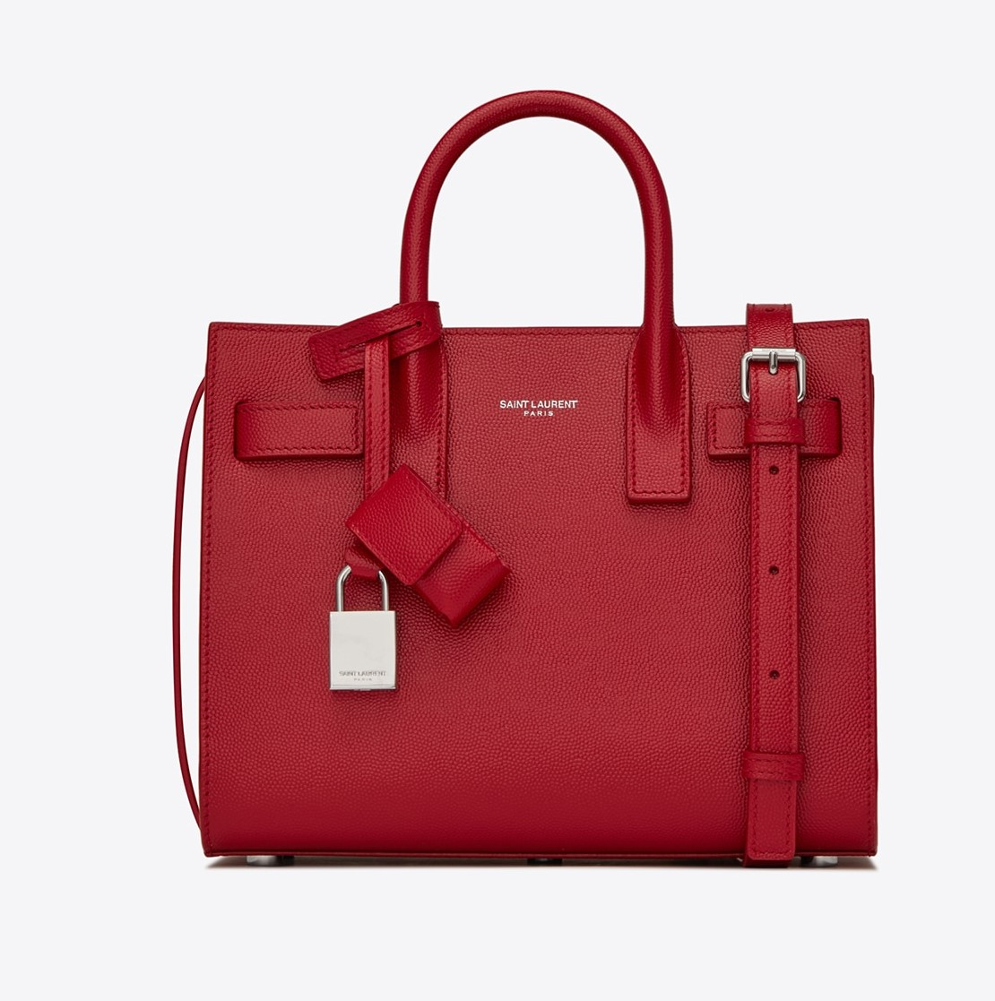 red saint laurent sac de jour