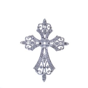 victorian era cross pendant
