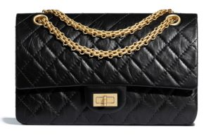 black chanel 2.25 bag